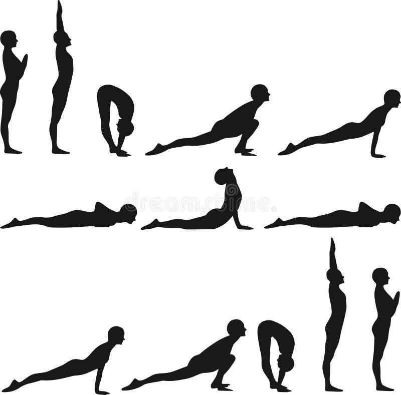 yogaone stock illustrationer