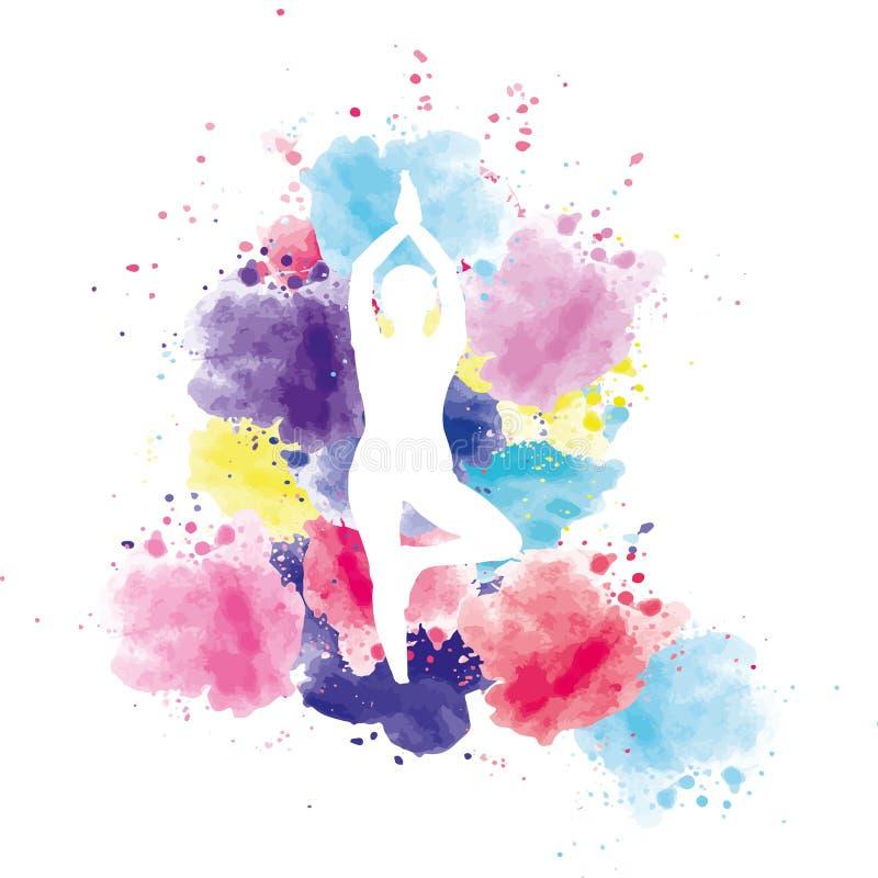 Yogaterapi arkivfoton