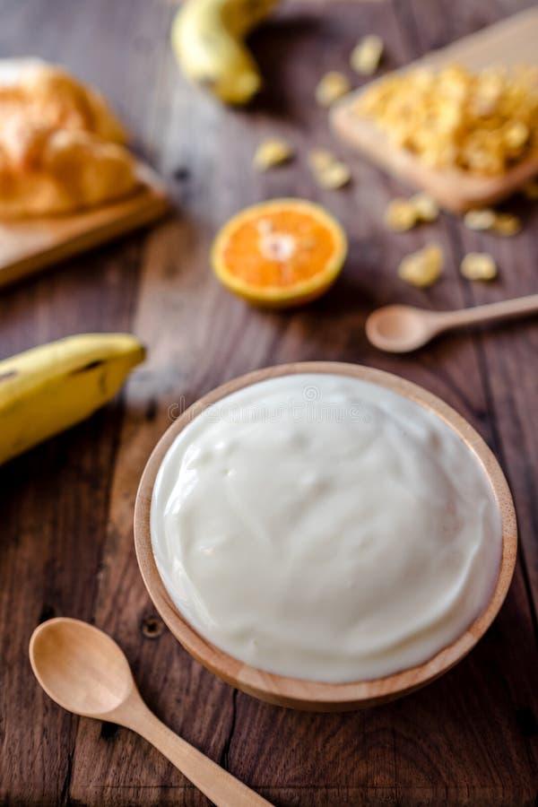 yoghurt royalty-vrije stock foto