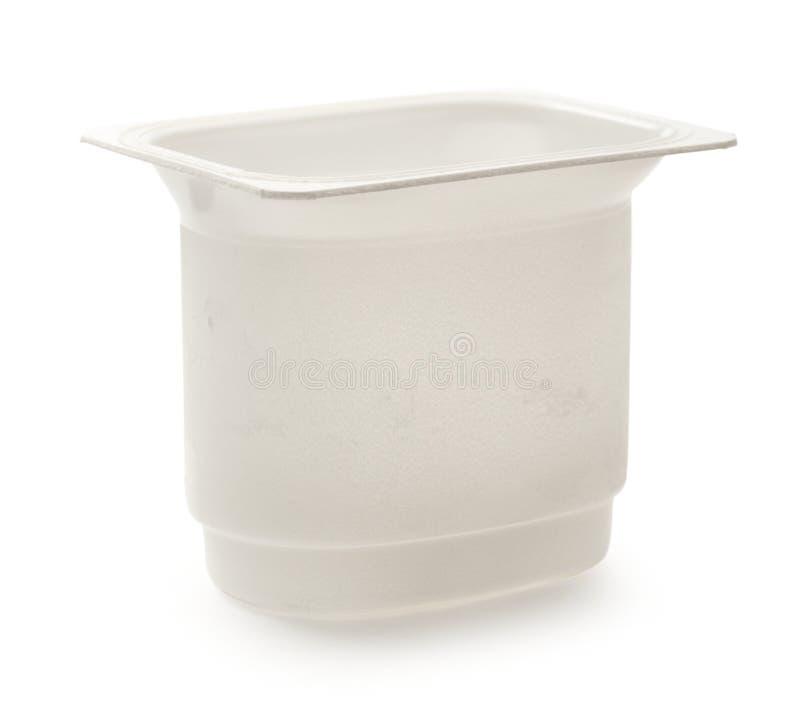 Yoghurt pot stock photo. Image of canister, yoghurt ...