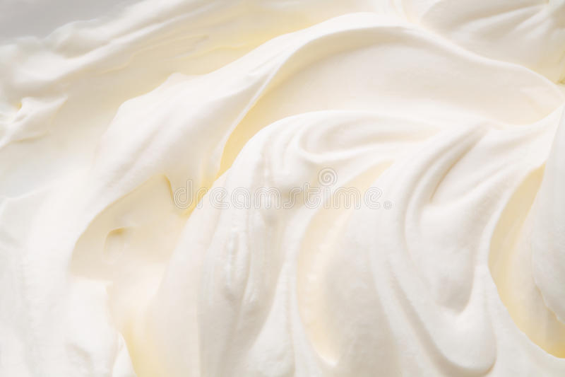 Yoghurtvirvel royaltyfri fotografi