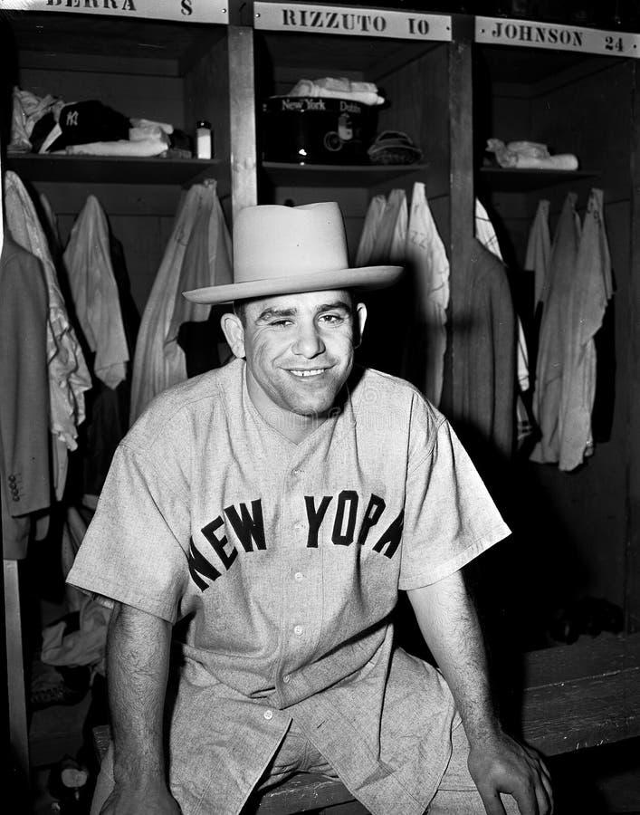 Yogi Berra new york yankees zdjęcie stock