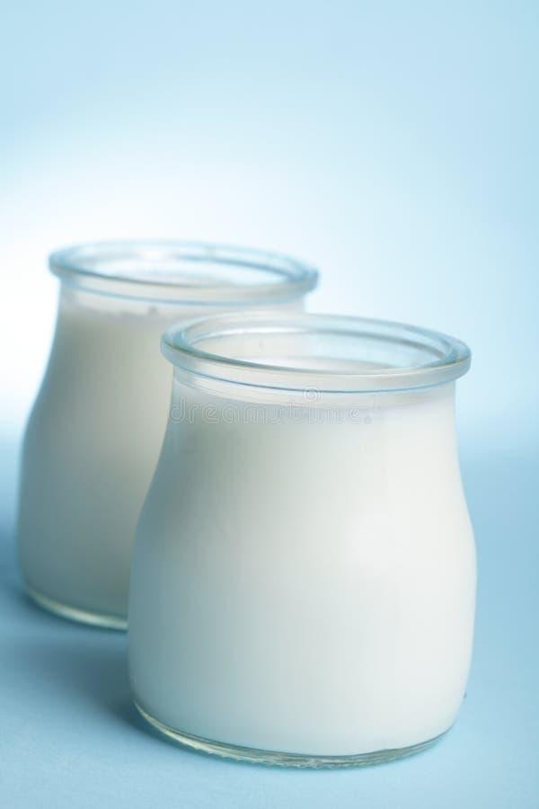 Yogurt fotografia stock