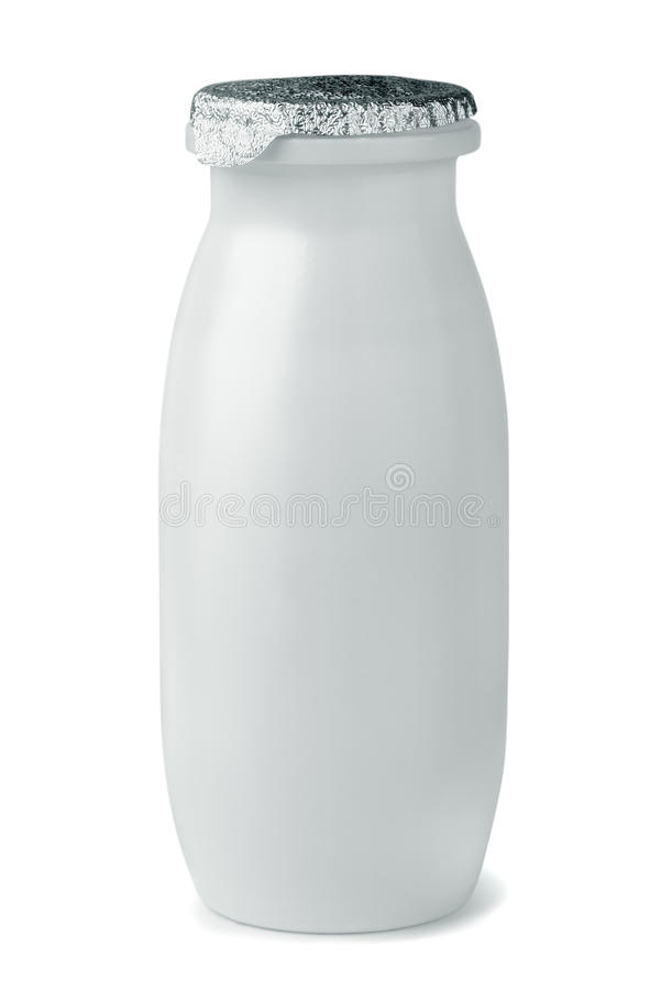Yogurt Bottle Royalty Free Stock Image