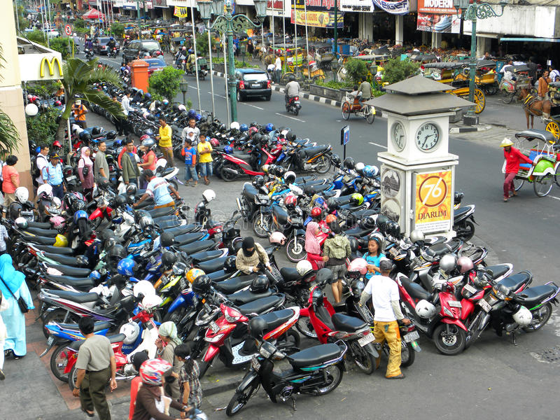Yogyakarta em Indonésia foto de stock royalty free