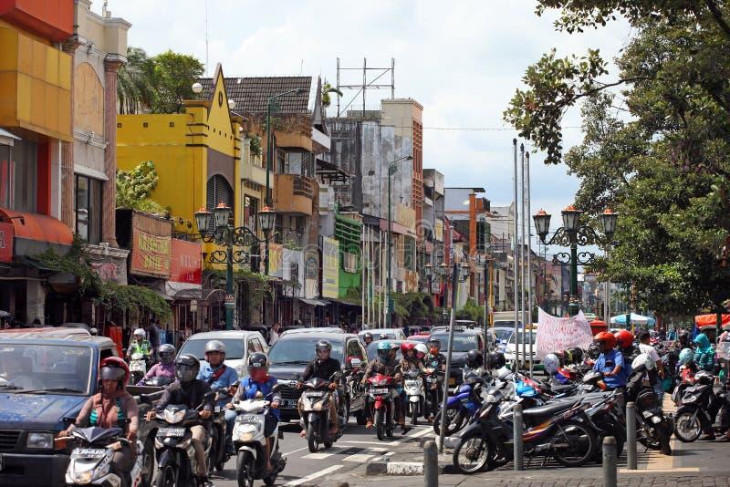 Yogyakarta en Indonesia foto de archivo libre de regalías
