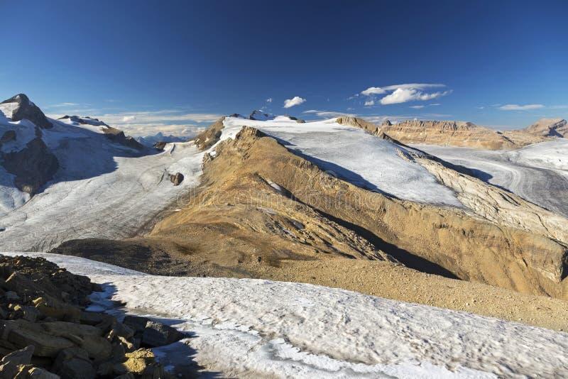 Yoho Peak Summit View stockfoto
