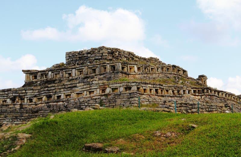 Yohualichan IX immagini stock libere da diritti