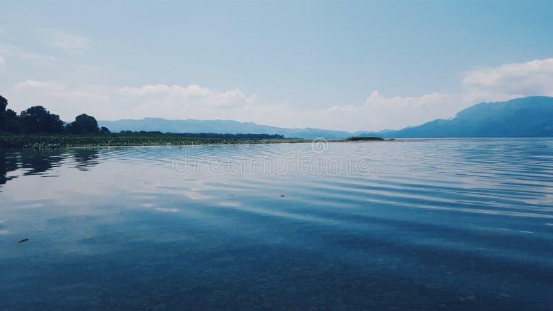 Yojoa湖 库存照片