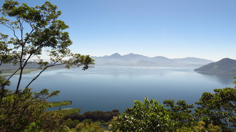 Yojoa lake stock image