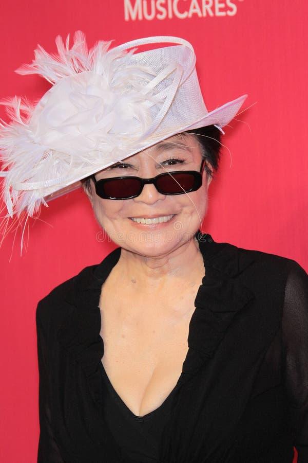 Yoko Ono royalty-vrije stock foto's