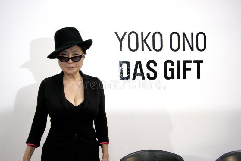 Yoko Ono obrazy royalty free
