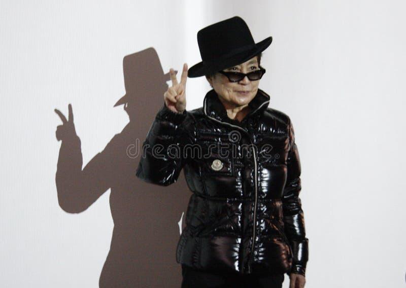 Yoko Ono fotografia royalty free