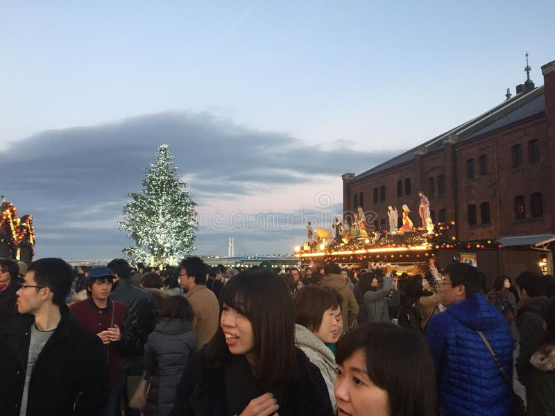 Yokohama Christmas stock photo