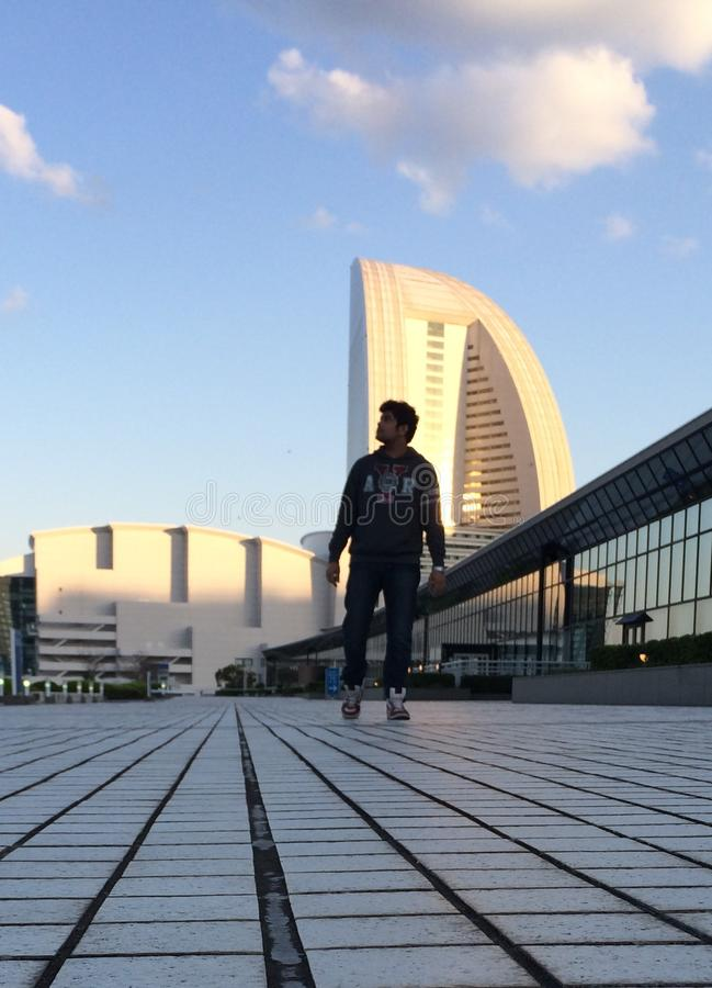 Yokohama het mooie bulding royalty-vrije stock fotografie