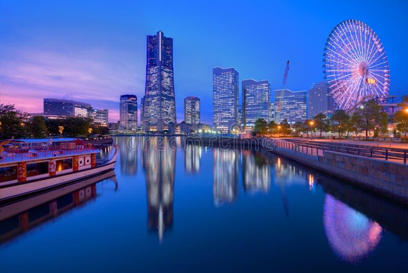 Yokohama Linia horyzontu zdjęcia stock