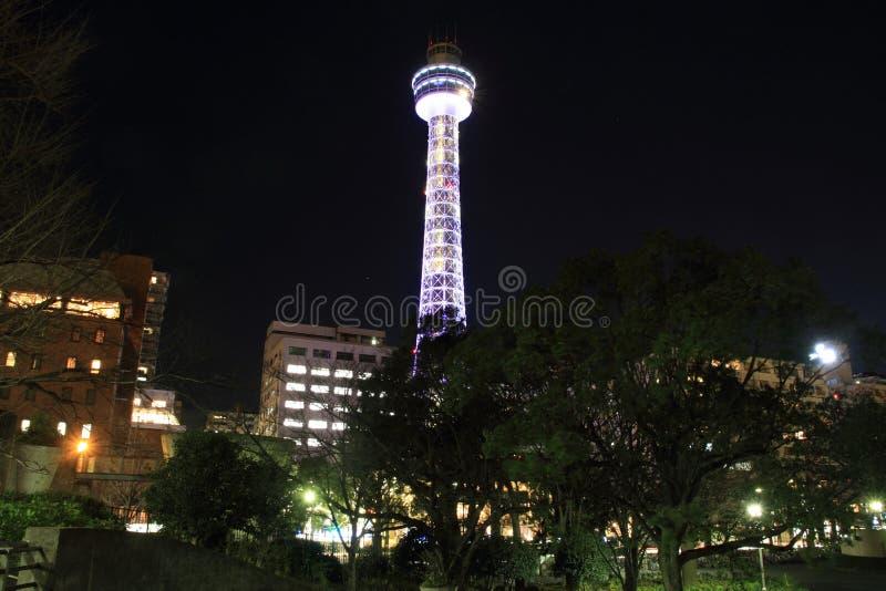 Yokohama mariene toren in Kanagawa, Japan stock fotografie