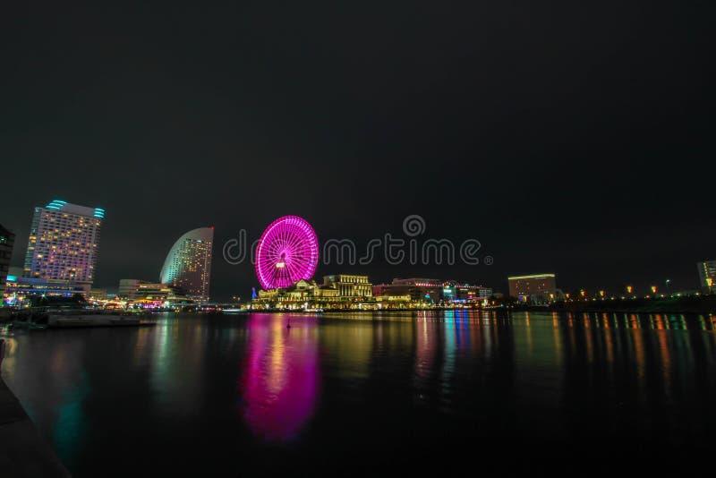 Yokohama Nightshoot fotografía de archivo