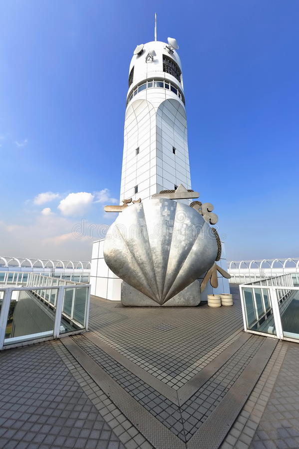 Yokohama Port Symbol Tower royalty free stock photography