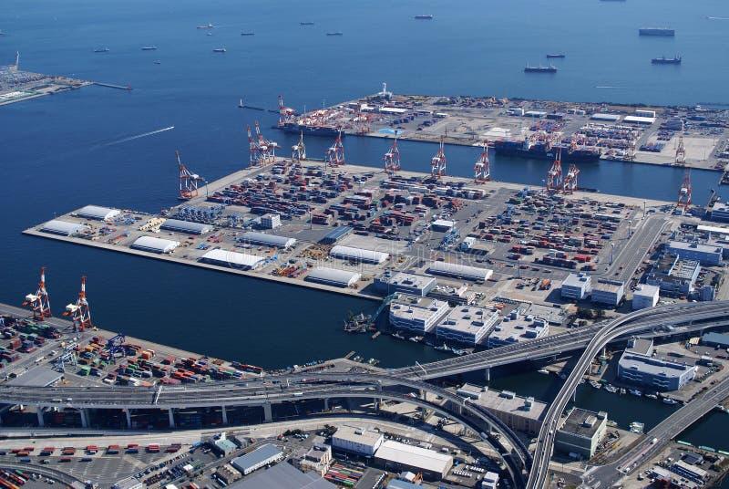Yokohama port stock photos