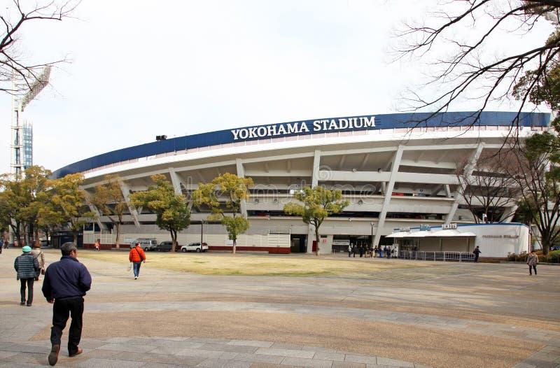 Yokohama Stadium. The famous Yokohama Stadium in Japan, home to the Yokohama Baystars Baseball team royalty free stock photo