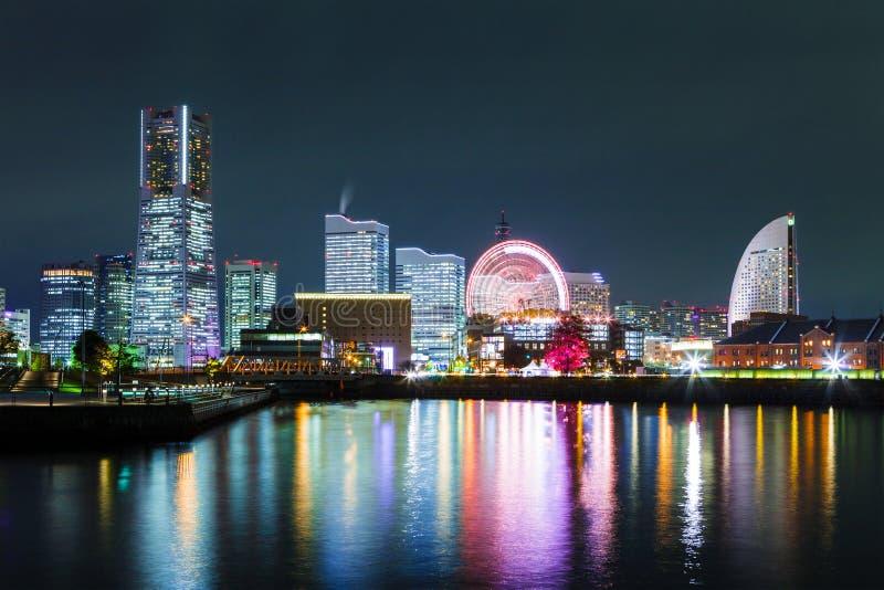 Yokohamastad in Japan stock fotografie