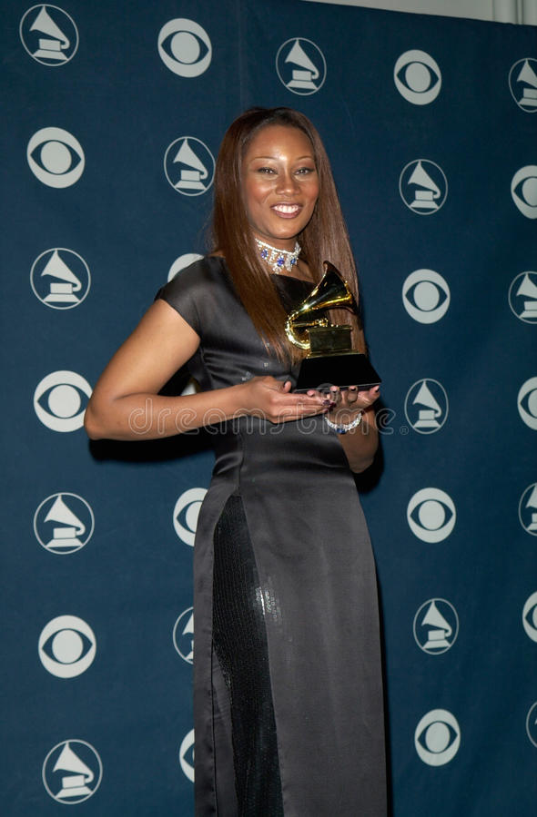 Yolanda Adams. 23FEB2000: Gospel singer YOLANDA ADAMS at the 42nd Annual Grammy Awards in Los Angeles. Paul Smith / Featureflash royalty free stock photo