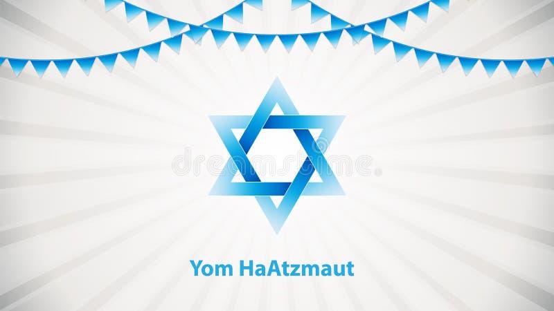 Yom Haatzmaut vektor illustrationer