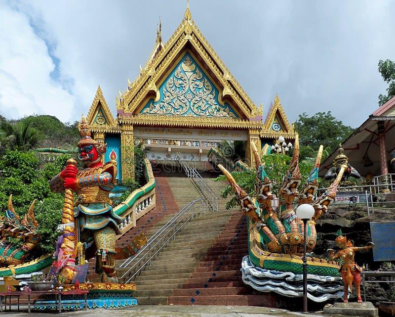Yommaraj vom Tempel von Khao schellte stockbilder