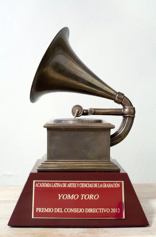 Yomo Toro Latijnse Grammy royalty-vrije stock afbeeldingen