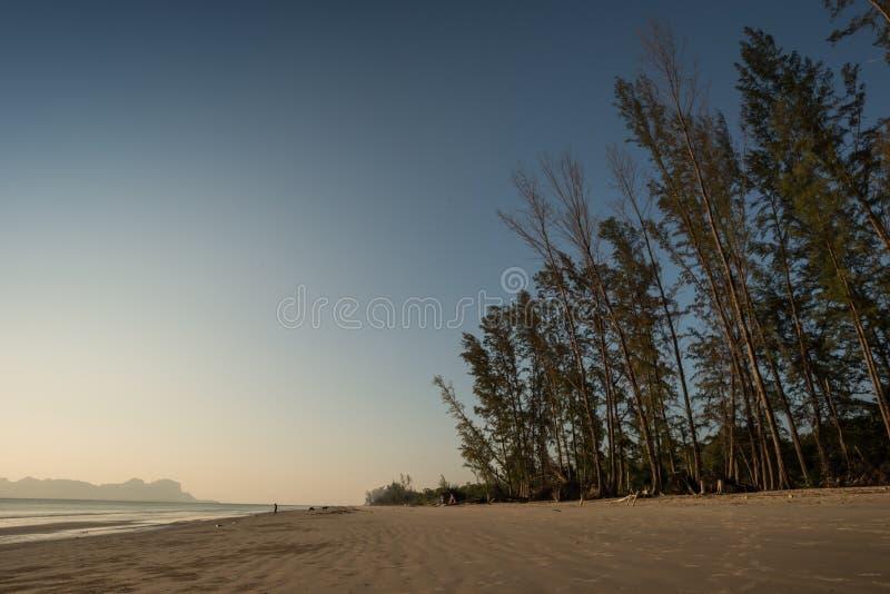 Yong Ling Beach, Sikao, Trang, Tailândia fotos de stock
