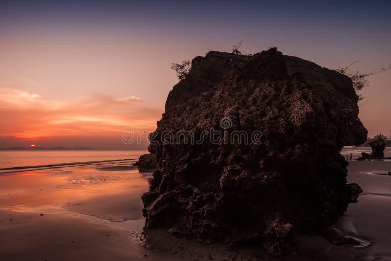 Yong Ling Beach, Sikao, Trang, Tailândia fotografia de stock