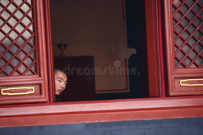 Yonghegong Lamasery stock photo