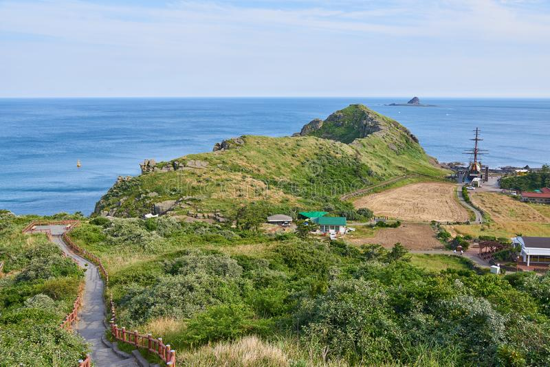 Yongmeori-Küste stockfotos