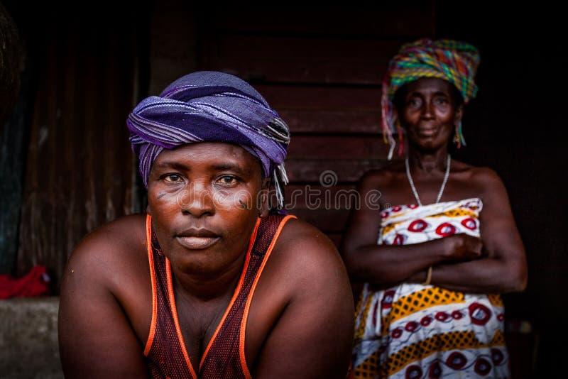 Yongoro, Sierra Leone, Africa occidentale immagine stock libera da diritti