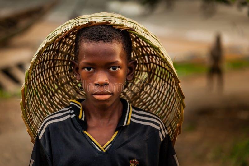 Yongoro, Sierra Leone, Africa occidentale immagini stock