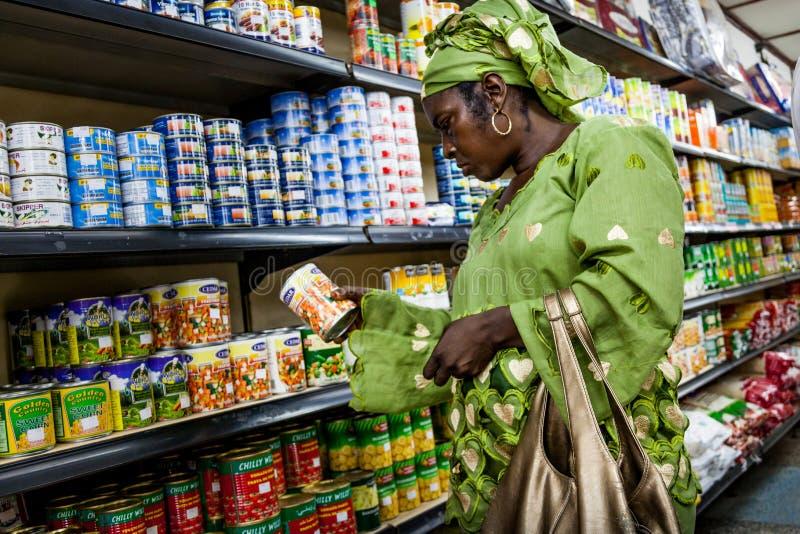Yongoro, Sierra Leone, West-Afrika stockfotos