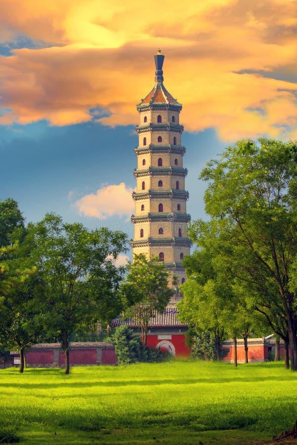 Free Yongyoushi Tower, Chengde, China Stock Images - 69182124