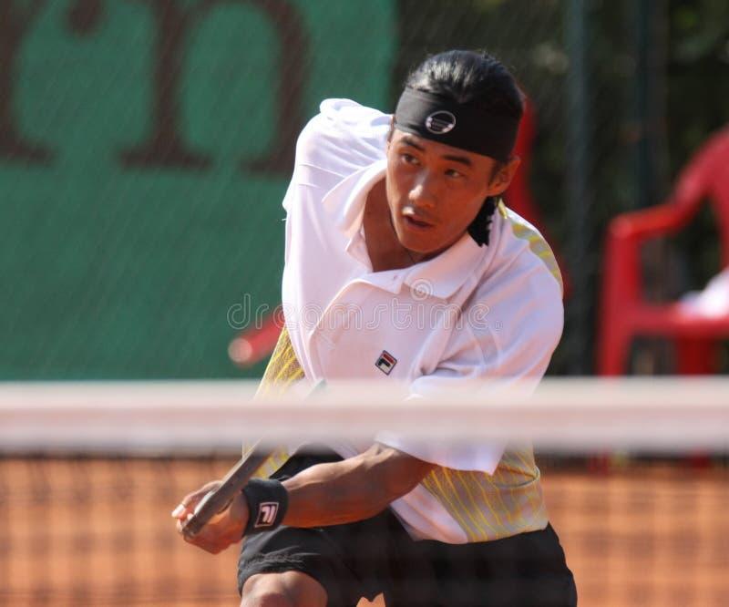 YOO DANIEL, ATP TENNIS PLAYER royalty free stock images