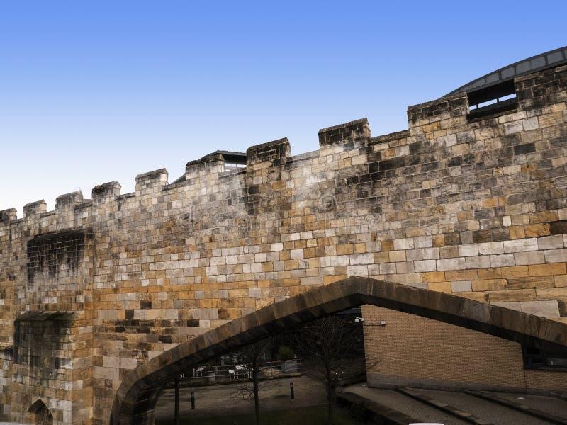 York é uma cidade murada, situada na afluência dos rios Ouse e Foss em North Yorkshire, Inglaterra imagem de stock royalty free