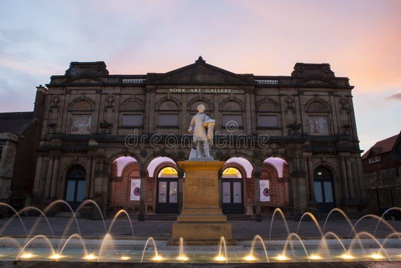 York Art Gallery fotos de archivo