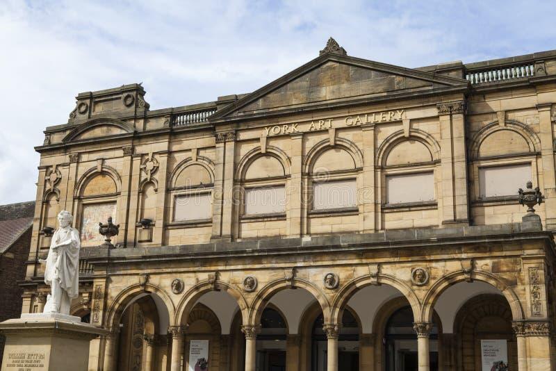 York Art Gallery imágenes de archivo libres de regalías