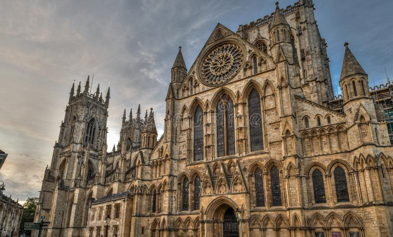 York Cathedral - The city of York in United Kingdom - England. York Cathedral - The city of York in United Kingdom royalty free stock images
