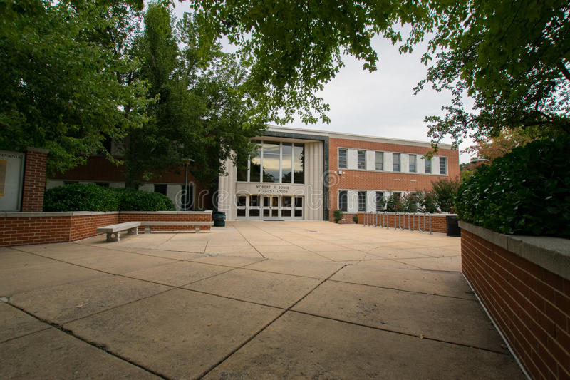 York-College von Pennsylvania-Campus lizenzfreie stockfotografie