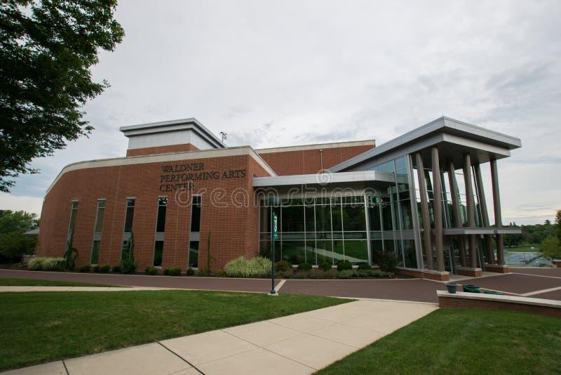 York-College von Pennsylvania-Campus stockbilder