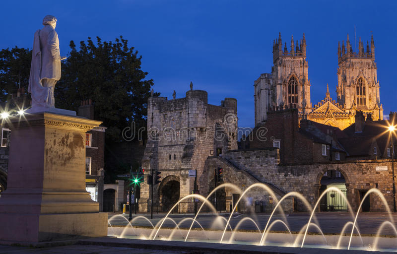 York en Inglaterra imagen de archivo libre de regalías