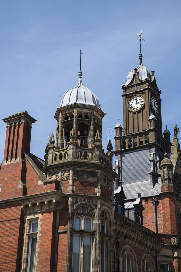 York en Selby Magistrates Court royalty-vrije stock foto's