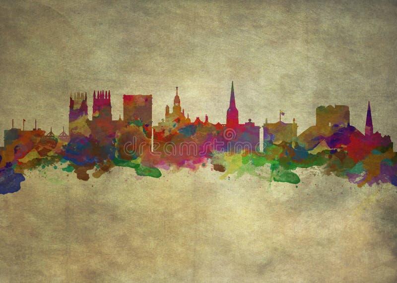 York Engeland vector illustratie
