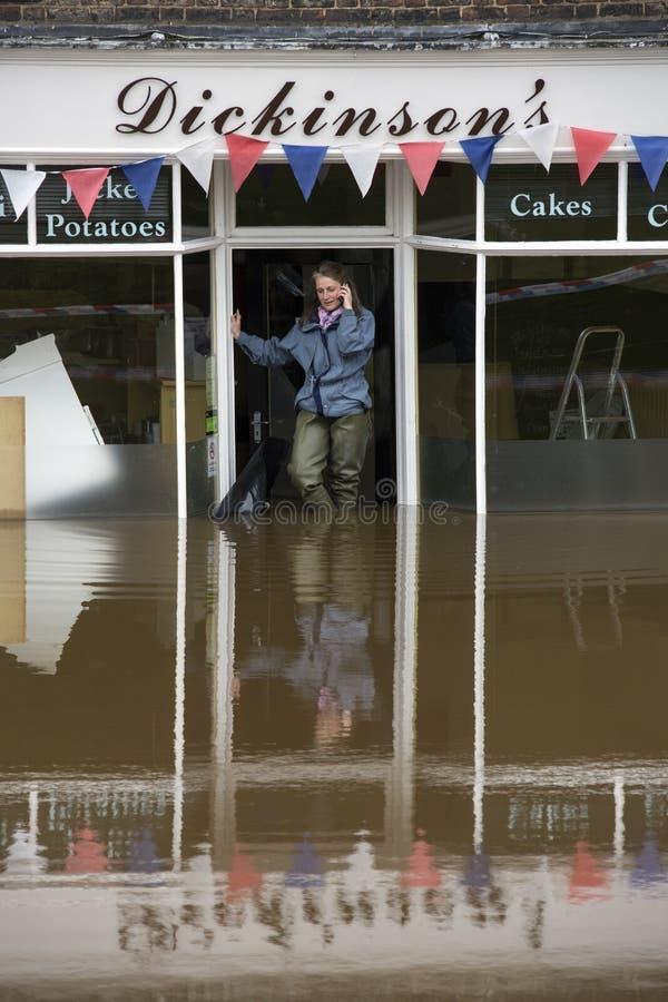 York Floods - Sept.2012 - UK Editorial Stock Image