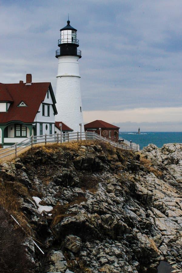 York-Hafen, Maine stockfotografie